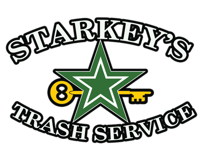 Starkeys Trash Service Mobile Logo